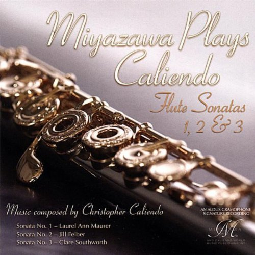 Miyazawa Plays Caliendo CD cover