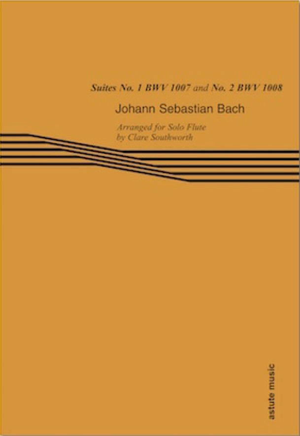 J.S. Bach Suites No. 1 & 2 by Clare Southworth music book