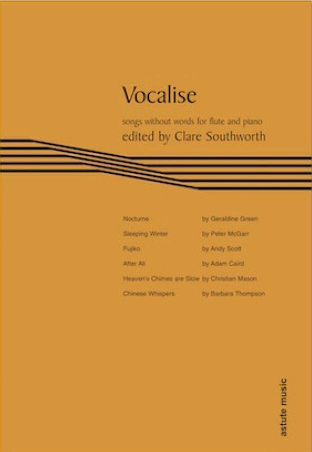 Vocalise by Clare Southworth music book